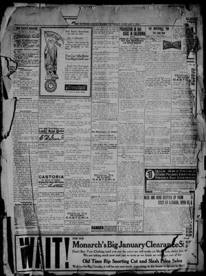 Primary view of object titled 'The Guthrie Daily Leader. (Guthrie, Okla.), Vol. 41, No. 149, Ed. 1 Thursday, January 1, 1914'.