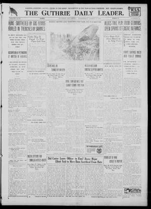 Primary view of object titled 'The Guthrie Daily Leader. (Guthrie, Okla.), Vol. 51, No. 46, Ed. 1 Wednesday, March 20, 1918'.
