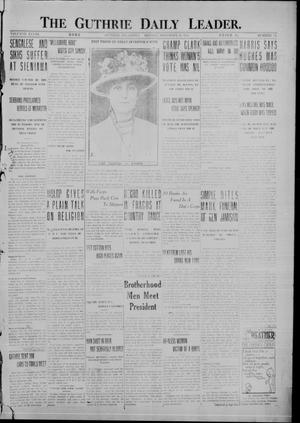 Primary view of object titled 'The Guthrie Daily Leader. (Guthrie, Okla.), Vol. 48, No. 116, Ed. 1 Monday, November 20, 1916'.