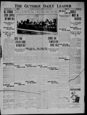 Primary view of object titled 'The Guthrie Daily Leader (Guthrie, Okla.), Vol. 47, No. 136, Ed. 1 Thursday, June 18, 1914'.