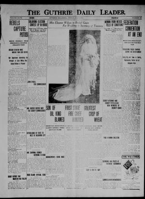 Primary view of object titled 'The Guthrie Daily Leader. (Guthrie, Okla.), Vol. 47, No. 101, Ed. 1 Friday, May 8, 1914'.