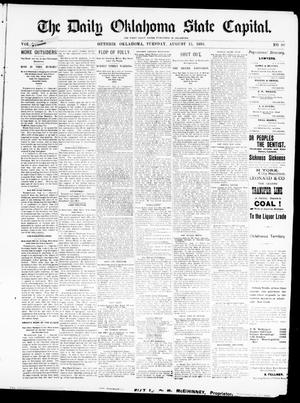 The Daily Oklahoma State Capital. (Guthrie, Okla.), Vol. 5, No. 99, Ed. 1, Tuesday, August 15, 1893