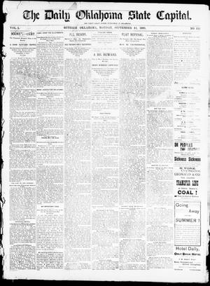 The Daily Oklahoma State Capital. (Guthrie, Okla.), Vol. 5, No. 122, Ed. 1, Monday, September 11, 1893