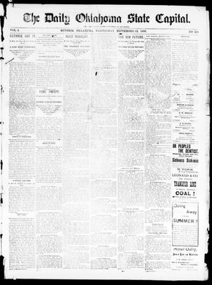 The Daily Oklahoma State Capital. (Guthrie, Okla.), Vol. 5, No. 124, Ed. 1, Wednesday, September 13, 1893