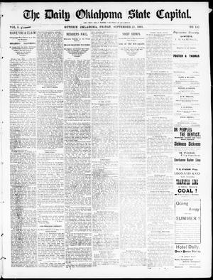Primary view of The Daily Oklahoma State Capital. (Guthrie, Okla.), Vol. 5, No. 132, Ed. 1, Friday, September 22, 1893