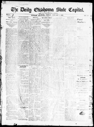 The Daily Oklahoma State Capital. (Guthrie, Okla.), Vol. 5, No. 219, Ed. 1, Friday, January 5, 1894