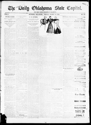 The Daily Oklahoma State Capital. (Guthrie, Okla.), Vol. 5, No. 287, Ed. 1, Friday, March 30, 1894