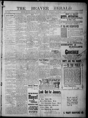 Primary view of The Beaver Herald. (Beaver, Okla. Terr.), Vol. 19, No. 33, Ed. 1, Thursday, February 1, 1906