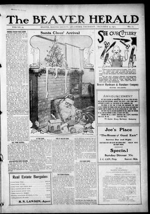 Primary view of object titled 'The Beaver Herald (Beaver, Okla.), Vol. 29, No. 29, Ed. 1, Thursday, December 23, 1915'.
