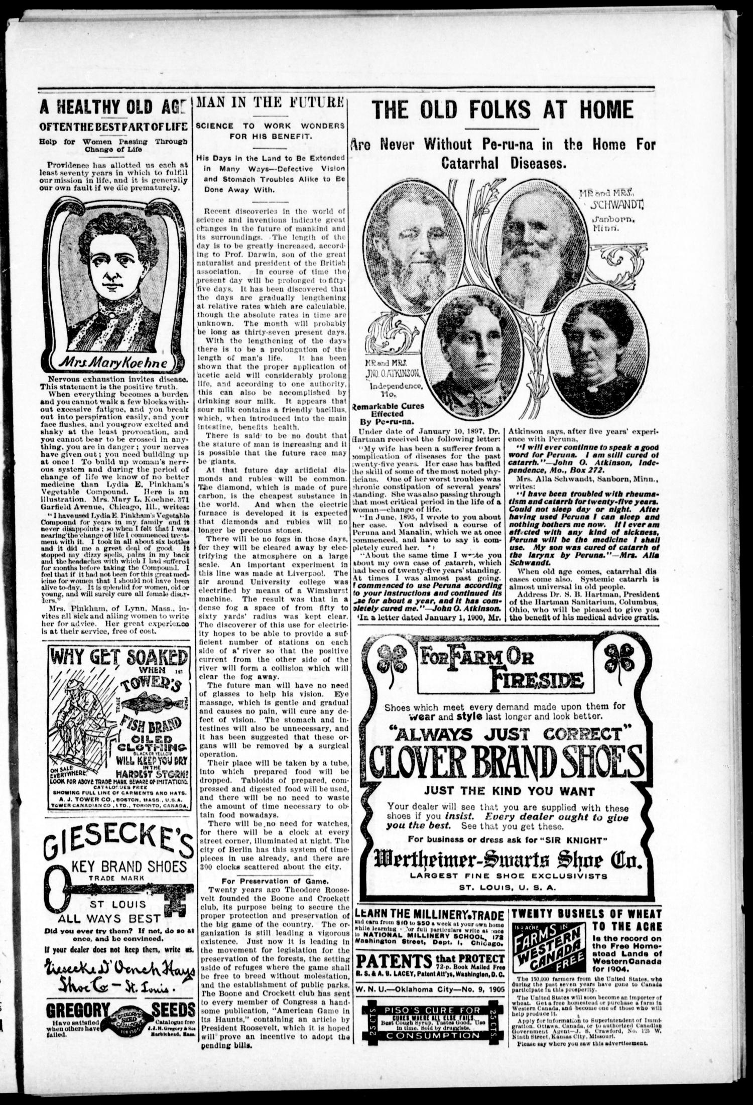 The Muskogee Cimeter. (Muskogee, Indian Terr.), Vol. 6, No. 21, Ed. 1, Thursday, March 2, 1905                                                                                                      [Sequence #]: 3 of 8
