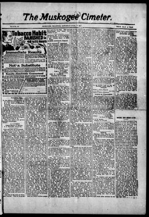 The Muskogee Cimeter. (Muskogee, Okla.), Vol. 18, No. 26, Ed. 1, Saturday, July 7, 1917