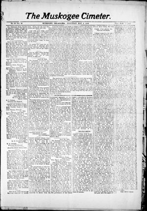 Primary view of object titled 'The Muskogee Cimeter. (Muskogee, Okla.), Vol. 18, No. 38, Ed. 1, Saturday, May 4, 1918'.