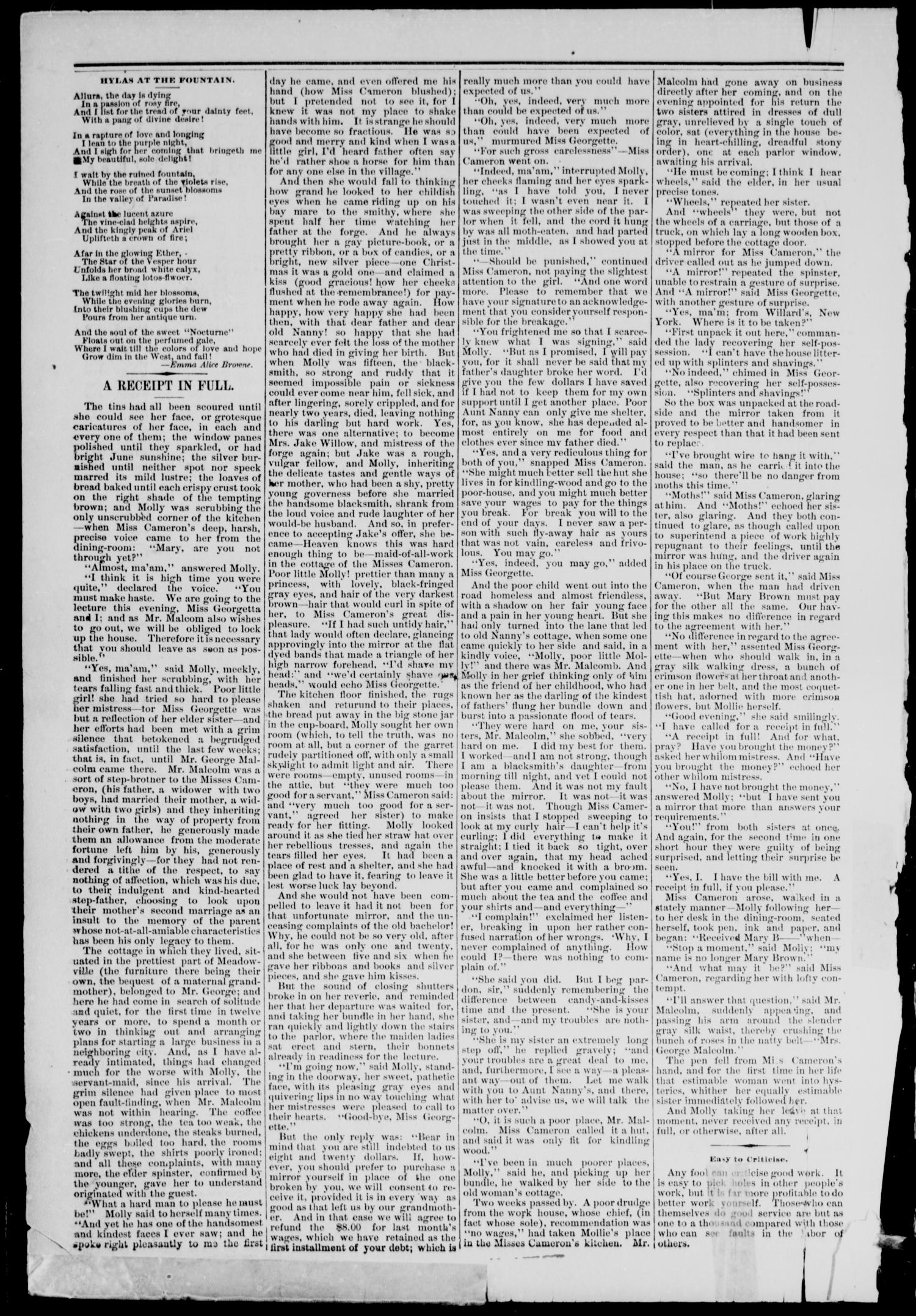Cheyenne Transporter. (Darlington, Indian Terr.), Vol. 4, No. 1, Ed. 1, Friday, August 25, 1882                                                                                                      [Sequence #]: 2 of 10