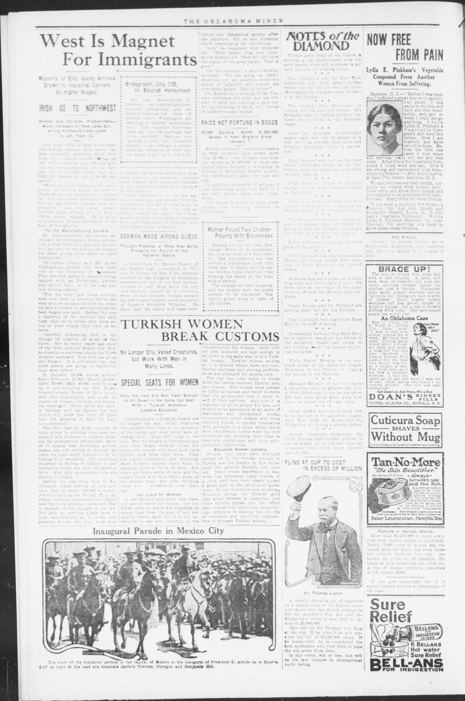 The Oklahoma Miner (Krebs, Okla.), Vol. 9, No. 26, Ed. 1, Thursday, August 12, 1920                                                                                                      [Sequence #]: 4 of 8