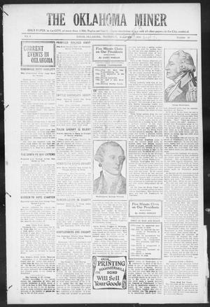 The Oklahoma Miner (Krebs, Okla.), Vol. 9, No. 30, Ed. 1, Thursday, September 9, 1920