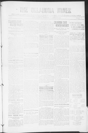 The Oklahoma Miner (Krebs, Okla.), Vol. 9, No. 47, Ed. 1, Thursday, December 30, 1920