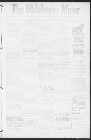 The Oklahoma Miner (Krebs, Okla.), Vol. 10, No. 36, Ed. 1, Thursday, September 29, 1921