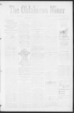 Primary view of object titled 'The Oklahoma Miner (Krebs, Okla.), Vol. 10, No. 40, Ed. 1, Thursday, October 27, 1921'.