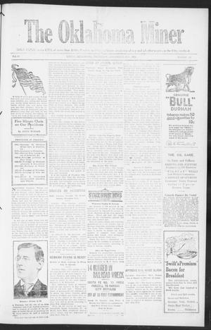 The Oklahoma Miner (Krebs, Okla.), Vol. 10, No. 42, Ed. 1, Thursday, November 17, 1921