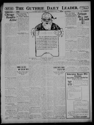 Primary view of object titled 'The Guthrie Daily Leader. (Guthrie, Okla.), Vol. 54, No. 85, Ed. 1 Saturday, December 24, 1921'.