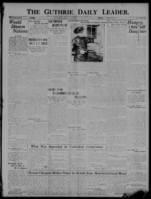 Primary view of object titled 'The Guthrie Daily Leader. (Guthrie, Okla.), Vol. 54, No. 116, Ed. 1 Saturday, January 22, 1921'.
