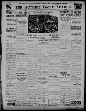 Primary view of The Guthrie Daily Leader. (Guthrie, Okla.), Vol. 51, No. 87, Ed. 1 Tuesday, May 7, 1918