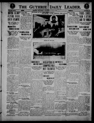Primary view of object titled 'The Guthrie Daily Leader. (Guthrie, Okla.), Vol. 52, No. 109, Ed. 1 Wednesday, July 2, 1919'.
