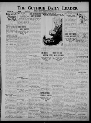 Primary view of object titled 'The Guthrie Daily Leader. (Guthrie, Okla.), Vol. 60, No. 22, Ed. 1 Saturday, October 14, 1922'.
