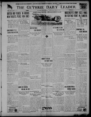 Primary view of object titled 'The Guthrie Daily Leader. (Guthrie, Okla.), Vol. 51, No. 91, Ed. 1 Saturday, May 11, 1918'.