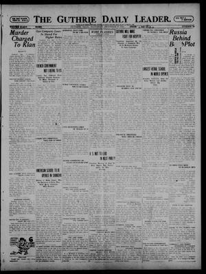 Primary view of object titled 'The Guthrie Daily Leader. (Guthrie, Okla.), Vol. 54, No. 79, Ed. 1 Saturday, December 17, 1921'.