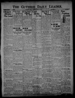 Primary view of object titled 'The Guthrie Daily Leader. (Guthrie, Okla.), Vol. 54, No. 9, Ed. 1 Friday, March 31, 1922'.