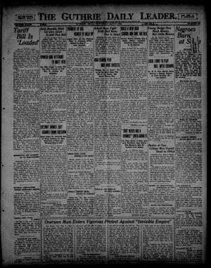 Primary view of object titled 'The Guthrie Daily Leader. (Guthrie, Okla.), Vol. 54, No. 40, Ed. 1 Saturday, May 6, 1922'.