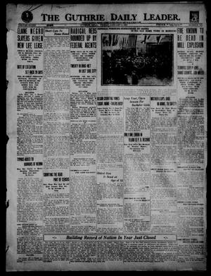 Primary view of object titled 'The Guthrie Daily Leader. (Guthrie, Okla.), Vol. 53, No. 105, Ed. 1 Friday, January 2, 1920'.