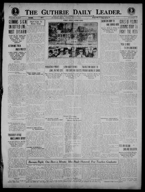 Primary view of object titled 'The Guthrie Daily Leader. (Guthrie, Okla.), Vol. 54, No. 110, Ed. 1 Friday, July 9, 1920'.