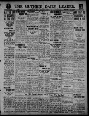 Primary view of object titled 'The Guthrie Daily Leader. (Guthrie, Okla.), Vol. 53, No. 83, Ed. 1 Friday, December 5, 1919'.