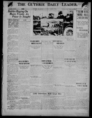 Primary view of The Guthrie Daily Leader. (Guthrie, Okla.), Vol. 52, No. 12, Ed. 1 Saturday, March 1, 1919