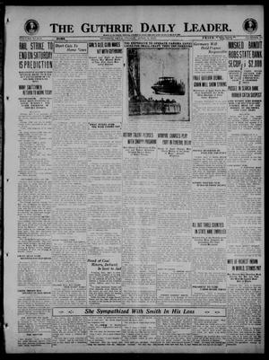 Primary view of object titled 'The Guthrie Daily Leader. (Guthrie, Okla.), Vol. 54, No. 33, Ed. 1 Friday, April 9, 1920'.