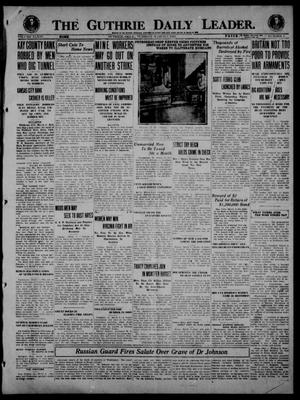 Primary view of object titled 'The Guthrie Daily Leader. (Guthrie, Okla.), Vol. 54, No. 6, Ed. 1 Tuesday, March 9, 1920'.