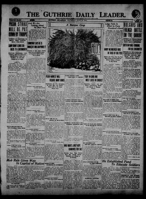 Primary view of object titled 'The Guthrie Daily Leader. (Guthrie, Okla.), Vol. 52, No. 128, Ed. 1 Thursday, July 24, 1919'.