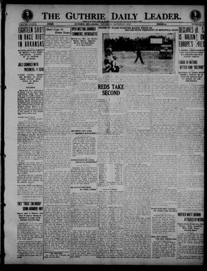 Primary view of object titled 'The Guthrie Daily Leader. (Guthrie, Okla.), Vol. 53, No. 31, Ed. 1 Thursday, October 2, 1919'.