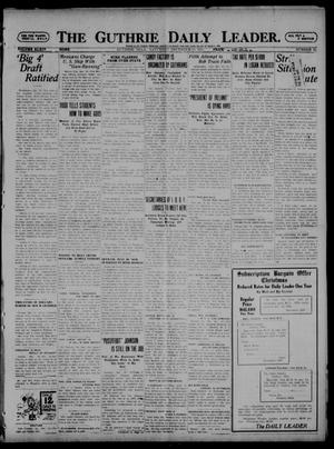 Primary view of object titled 'The Guthrie Daily Leader. (Guthrie, Okla.), Vol. 54, No. 74, Ed. 1 Saturday, December 10, 1921'.