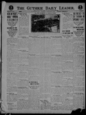 Primary view of object titled 'The Guthrie Daily Leader. (Guthrie, Okla.), Vol. 54, No. 1, Ed. 1 Thursday, September 2, 1920'.