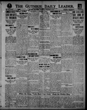 Primary view of object titled 'The Guthrie Daily Leader. (Guthrie, Okla.), Vol. 53, No. 94, Ed. 1 Thursday, December 18, 1919'.