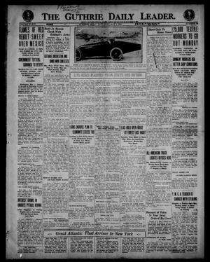 Primary view of object titled 'The Guthrie Daily Leader. (Guthrie, Okla.), Vol. 54, No. 52, Ed. 1 Saturday, May 1, 1920'.
