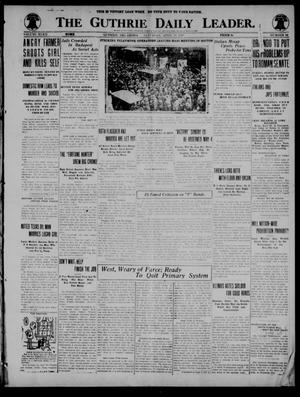 The Guthrie Daily Leader. (Guthrie, Okla.), Vol. 52, No. 56, Ed. 1 Saturday, April 26, 1919