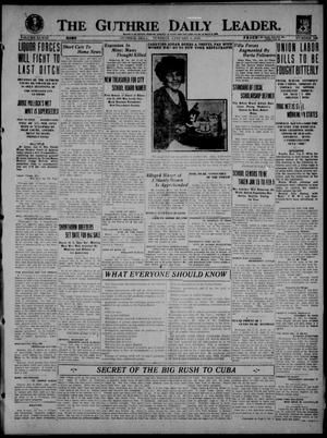 Primary view of object titled 'The Guthrie Daily Leader. (Guthrie, Okla.), Vol. 53, No. 108, Ed. 1 Tuesday, January 6, 1920'.