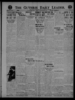 The Guthrie Daily Leader. (Guthrie, Okla.), Vol. 54, No. 20, Ed. 1 Friday, September 24, 1920