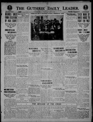 Primary view of object titled 'The Guthrie Daily Leader. (Guthrie, Okla.), Vol. 53, No. 111, Ed. 1 Friday, January 9, 1920'.