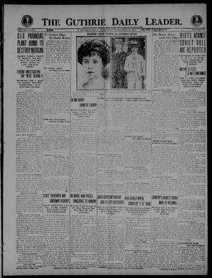 Primary view of The Guthrie Daily Leader. (Guthrie, Okla.), Vol. 54, No. 15, Ed. 1 Saturday, September 18, 1920