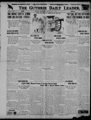Primary view of The Guthrie Daily Leader. (Guthrie, Okla.), Vol. 51, No. 113, Ed. 1 Friday, June 7, 1918